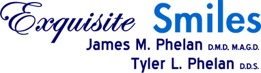 James M. Phelan, DMD, MAGD | Attleboro Dentist| Exquisite Smiles Logo